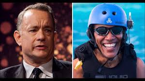 tom hanks says he got u0027screwed u0027 on obama vacation gives intimate