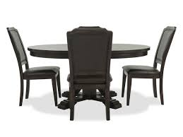 Mathis Furniture Ontario by Winners Only Montreal Brown Five Piece Dining Set Mathis