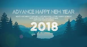 happy new year inspirational wishes 2018 with lover celebration