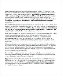 collection of solutions example testimonial letter for gun licence
