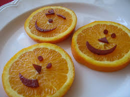 be brave keep going healthy halloween snack pumpkin happy face