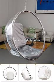 modern contemporary swing hanging transparent arcylic eero aarnio