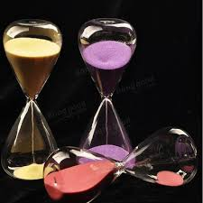 5 30 minute colorful glass sand timer sandglass hourglass home