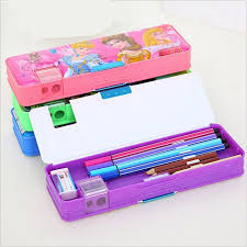 pencil boxes automatic creative stationery storage boxes boy girl school