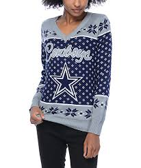 cowboys sweater nfl forever collectibles dallas cowboys sweater zumiez