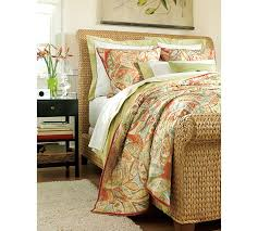 seagrass sleigh bed pottery barn
