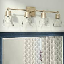 gallego 3 light glass shade vanity light three posts gallego 4 light vanity light reviews wayfair