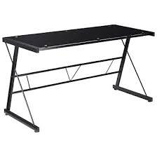 bureau verre et metal meuble bureau et ordinateur pas cher but fr