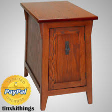 End Table Storage Mission End Table Ebay