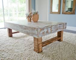 Whitewash Coffee Table Rustic Coffee Tables Dining Tables Home Decor By Archerhomedesigns