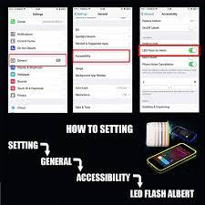 led flashing shockproof case multi color apple iphone 6 6s