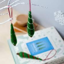 christmas tree decorations needle felting craft kit by hawthorn