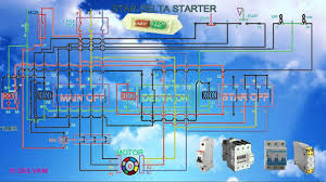 awesome wye delta motor starter wiring diagram images the best