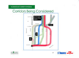 Scarborough Town Centre Floor Plan by Where Might The Scarborough Subway Go U2013 Steve Munro