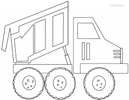 dump truck coloring pages fablesfromthefriends com