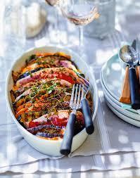 cuisiner rouget recette tian de rouget aux légumes grillés recettes comment