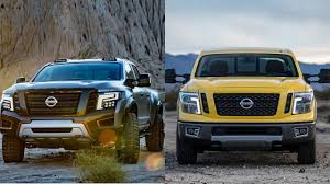 nissan titan for sale 2016 nissan titan warrior vs 2016 nissan titan xd youtube