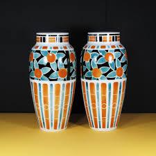 Deco Vase Vintage French Art Deco Vases By Keller Et Guérin For Lunéville