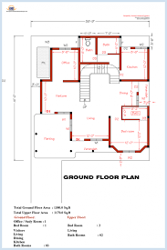 house plans adorable simple floor bedrooms small one in kerala flo