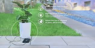 bioo is the world u0027s first planter that can charge your smartphone