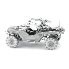 halo warthog innovatoys metal earth halo unsc warthog 3d diy metal model