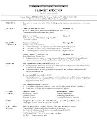 Structural Engineer Resume Resume Environmental Engineer Resume