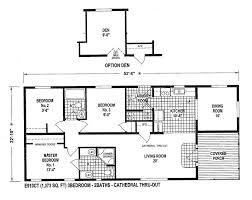 mobile home blueprints 3 bedrooms single wide 71 e910ct u2014 1 073