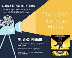 movies on main town of tazewell