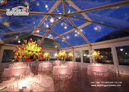 clear wedding tent large clear luxury wedding tents decoration with pvc roof cover