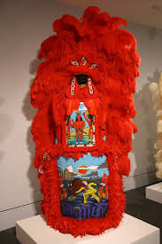 mardi gras indian costumes well suited the costumes of alonzo v wilson for hbo s treme