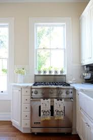 apartment therapy kitchens valspar cream in my coffee corner