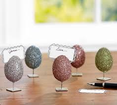 Pottery Barn Easter Eggs Easter Decor Pottery Barn German Glitter Egg Place Card Holders