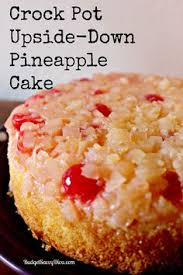 this recipe makes a two layer pineapple upside down cake using