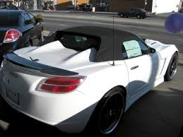 saturn sky red new red sky u0026 white w carbon fiber spoiler saturn sky forums