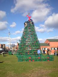 go ahead and top these extreme christmas trees full house