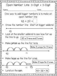 2 digit 2 digit addition using break apart strategy 2nd grade