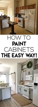 how to quickly paint cabinets how to easily paint kitchen cabinet new kitchen cabinets