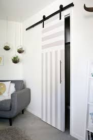 sliding door solution for small spaces u2013 a beautiful mess