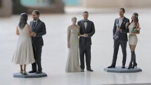 customized wedding cake toppers technology is the new wedding trend from drones to 3 d