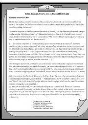 english teaching worksheets internet