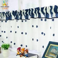 kitchen curtains blue promotion shop for promotional kitchen