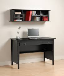 Desk Storage Drawers Furniture Black Wooden Computer Table With Storage Drawer Plus