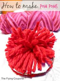 valentine u0027s day pom poms craft for kids to make cool craft ideas