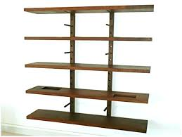 hanging without nails how to hang shelves patternd me