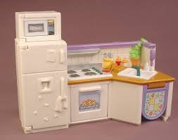 loving family kitchen furniture fisher price loving family dollhouse 2001 home stable
