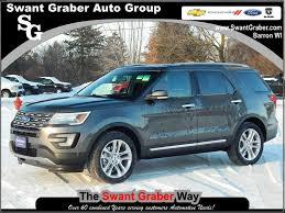 Ford Explorer Body Styles - swant graber ford in barron ford f 150 escape superduty