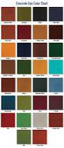 Stain Color Chart Concrete Coating Color Chart Concrete Stains U0026 Dyes Concrete Solutions Decorative Concrete