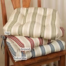 Striped Patio Chair Cushions by Decor Mesmerizing Outdoor Patio Chair Cushions In Stripped