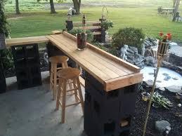 cinder block patio bar janice lininger bar pinterest patio