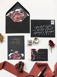 28 trendy moody wedding stationery ideas weddingomania